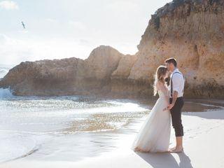 O casamento de Larisa e Marius