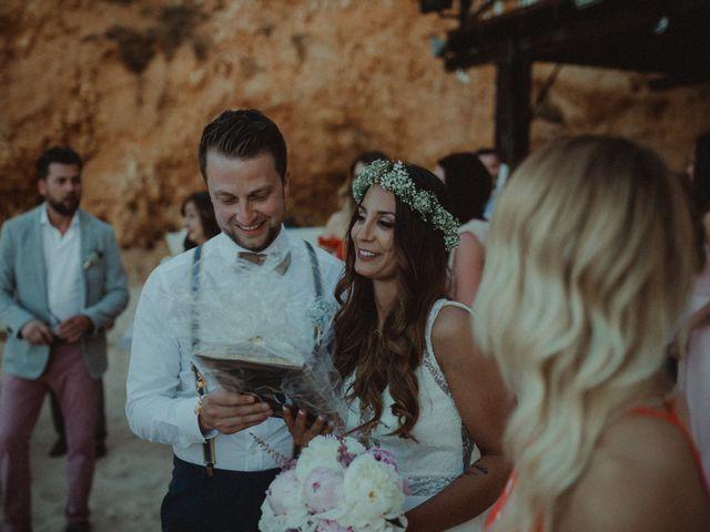 O casamento de Christoph e Janine em Alvor, Portimão 99