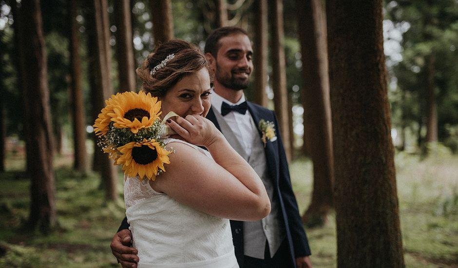 O casamento de Hugo  e Débora em Angra do Heroísmo, Terceira