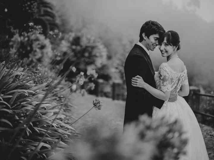 O casamento de Eduarda e Rudi