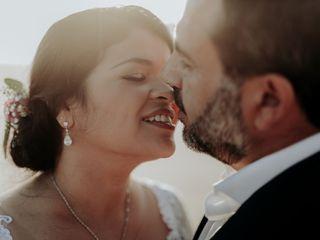 O casamento de Adriana e Joaquim