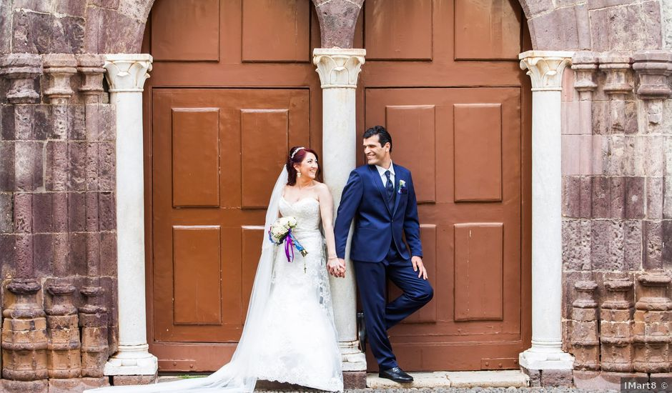O casamento de Adriano e Délia em Machico, Madeira