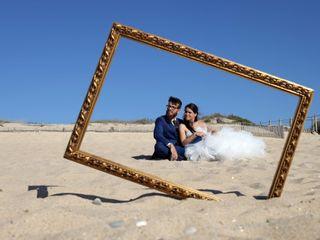 O casamento de Carina e Cláudio