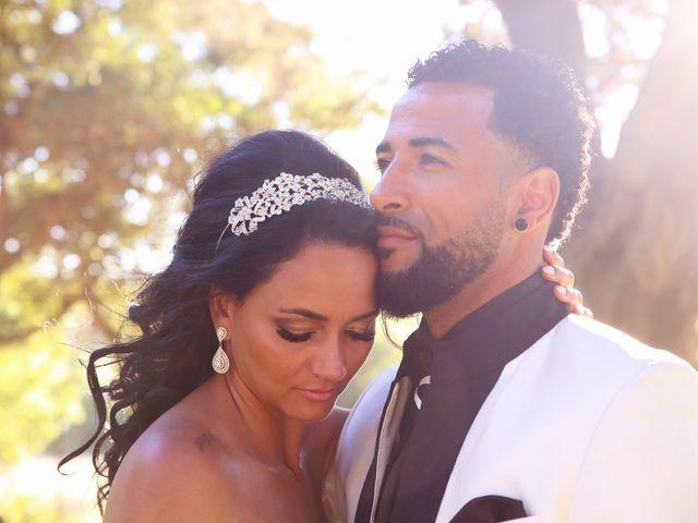 O casamento de Edna e Carlos