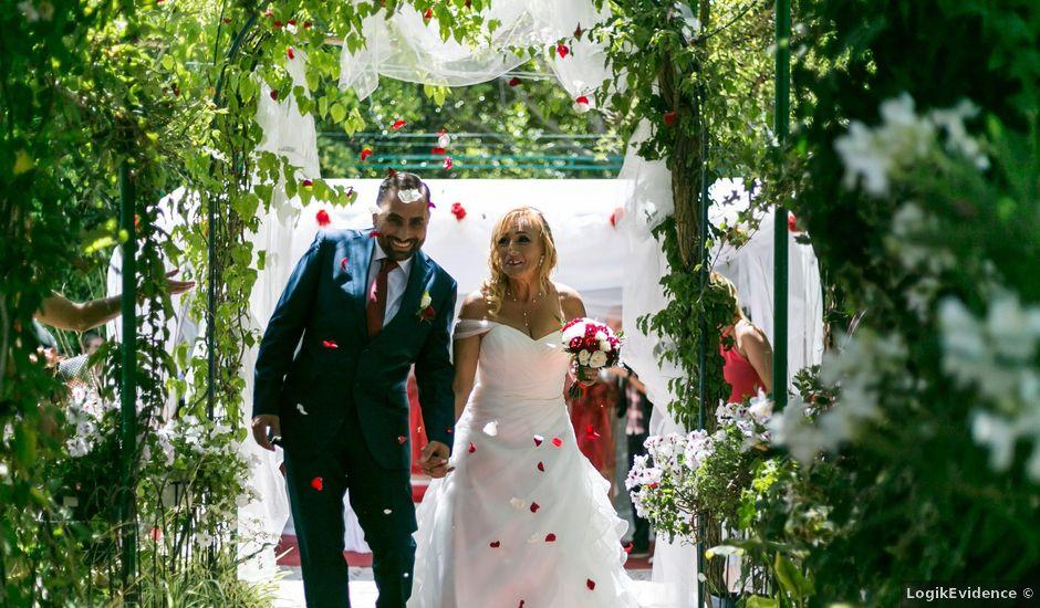 O casamento de Marco e Paula em Charneca de Caparica, Almada