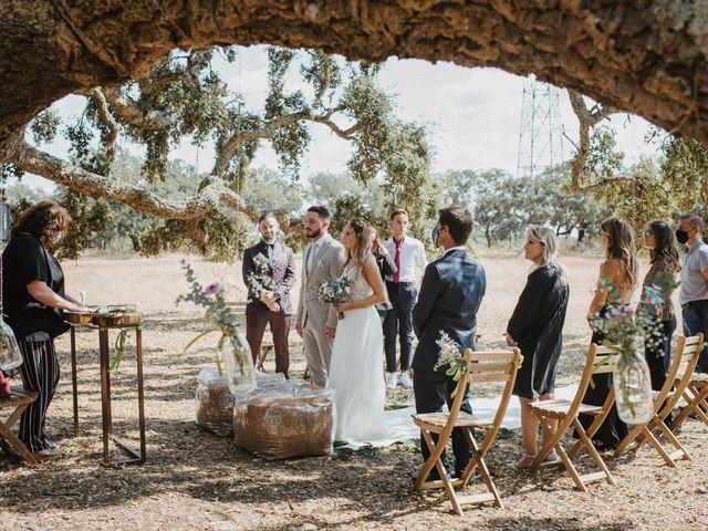 O casamento de Inês e Tiago em Abela, Santiago do Cacém 15