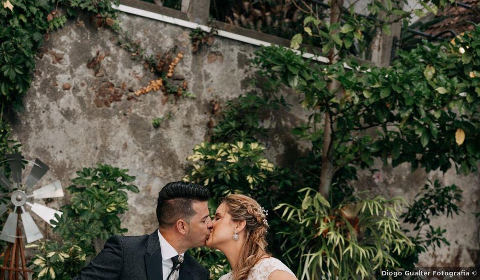O casamento de Alexandre e Claúdia em Funchal, Madeira