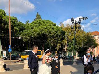 O casamento de Nuno e Cristina