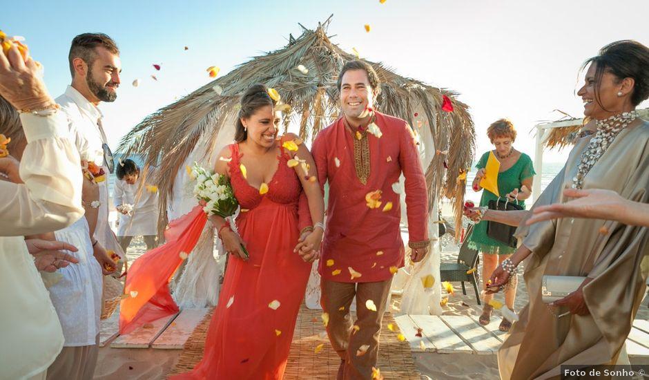 O casamento de Nelson e Inês em Costa de Caparica, Almada