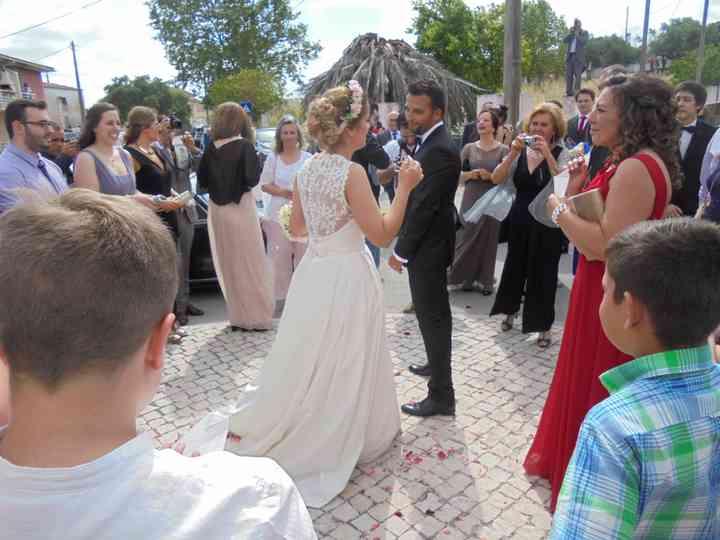 O casamento de Gisela e Andre