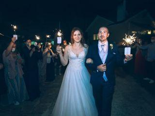 O casamento de Joana e Admésio