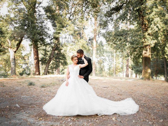 O casamento de Carina e Miguel