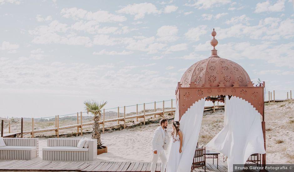 O casamento de David e Catarina em Azurara, Vila do Conde
