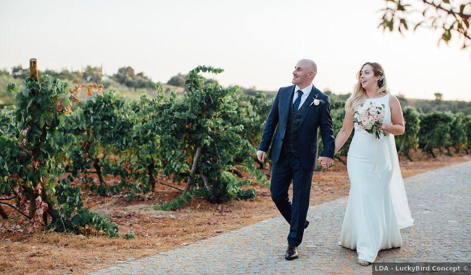 O casamento de Jon e Orla em Estombar, Lagoa