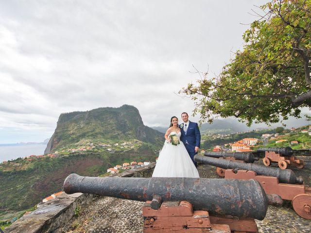 O casamento de André e Cátia em Faial, Madeira 2