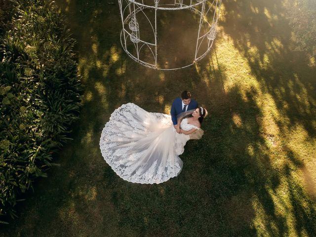 O casamento de Elsa e Artur