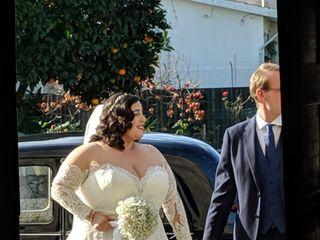 O casamento de Eva e Nick 2