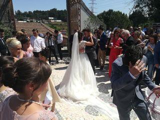 O casamento de Cristiano e Sara
