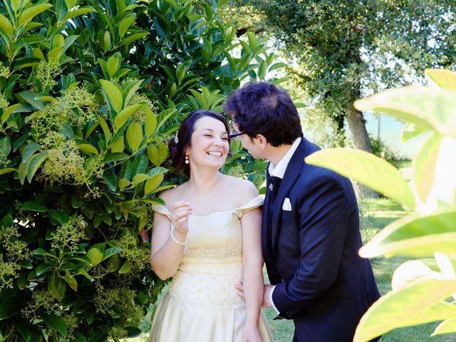 O casamento de Carina e André