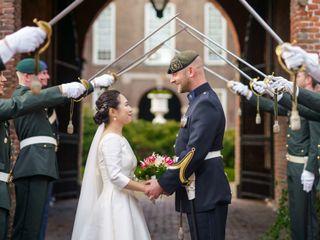 O casamento de Yiqun e Sebastiaan