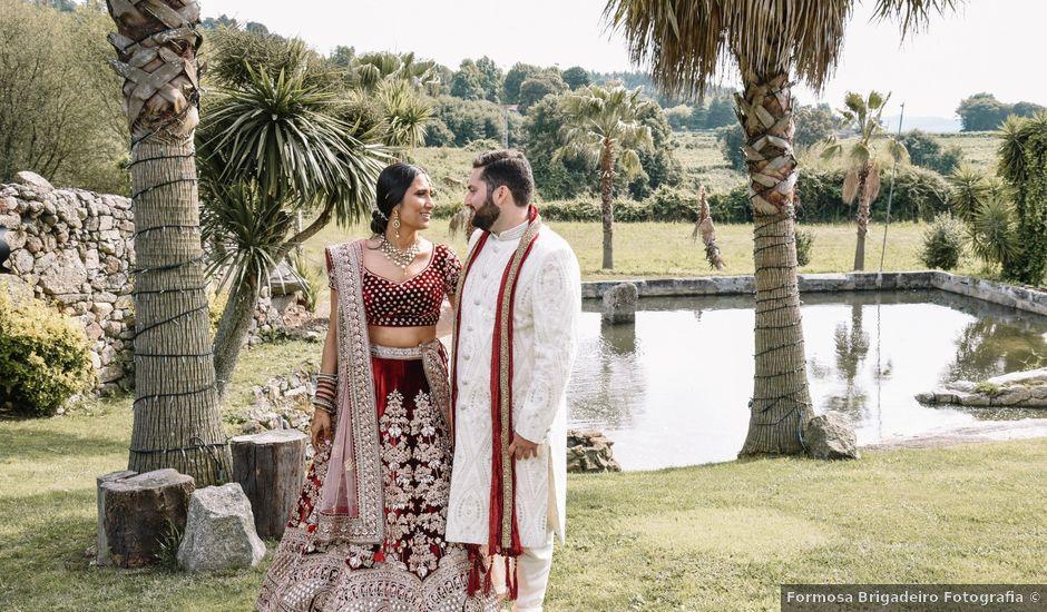 O casamento de Charles e Nikita em Santo Tirso, Santo Tirso
