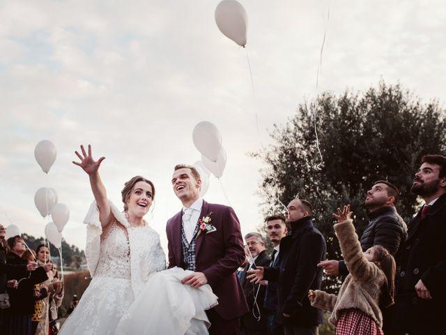 O casamento de Carina e Fábio