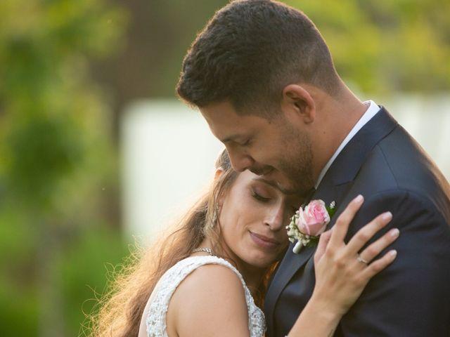 O casamento de Wesley e Sónia