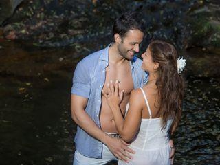 O casamento de Silvia e Filipe 1