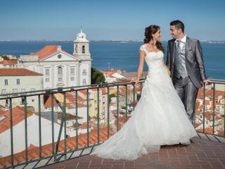 O casamento de Marta e Telmo
