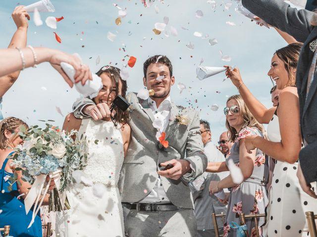 O casamento de Becca e Marc