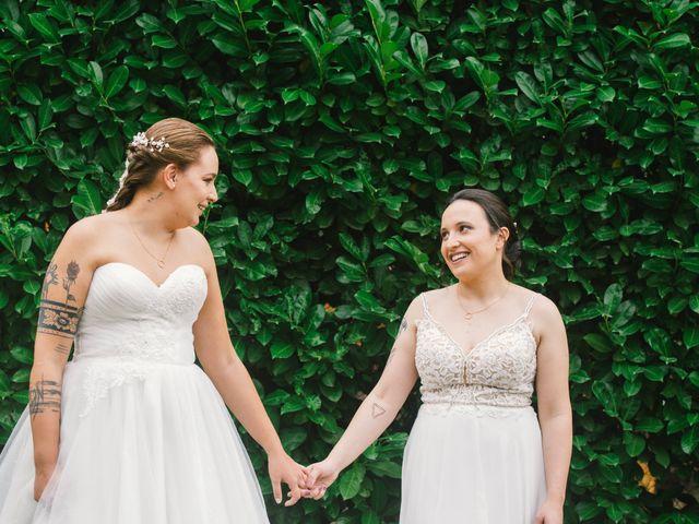 O casamento de Alexandra e Carla