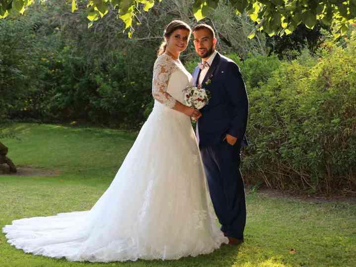 O casamento de Nadine e João