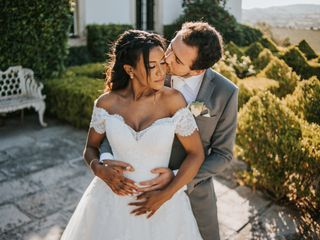 O casamento de Luzia e Pedro