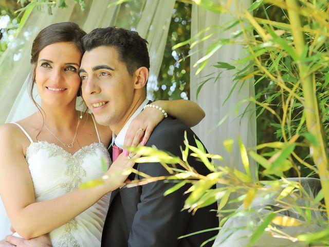O casamento de Cátia e Sérgio