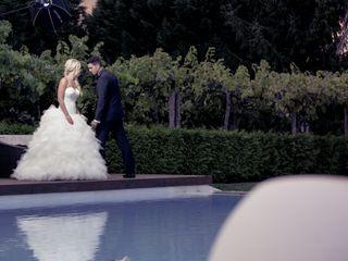 O casamento de Melanie e Philipe
