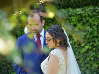O casamento de Ângela e Nuno