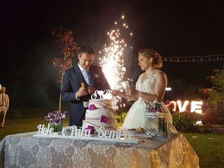 O casamento de Stéphanie  e Pedro