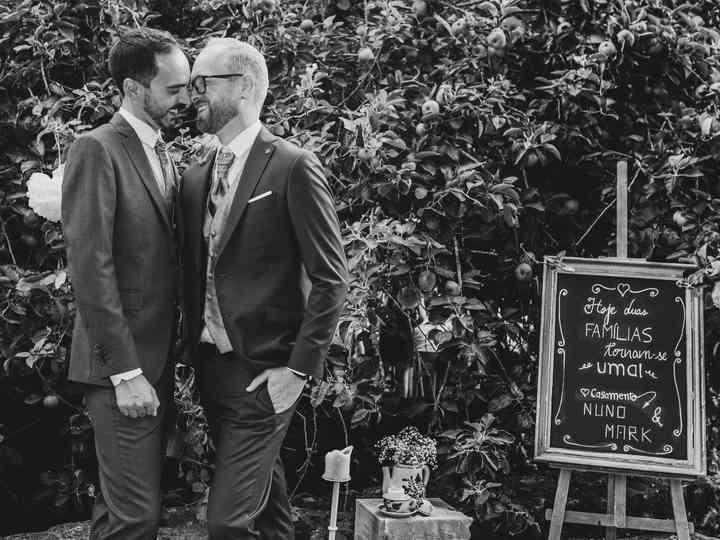 O casamento de Mark e Nuno
