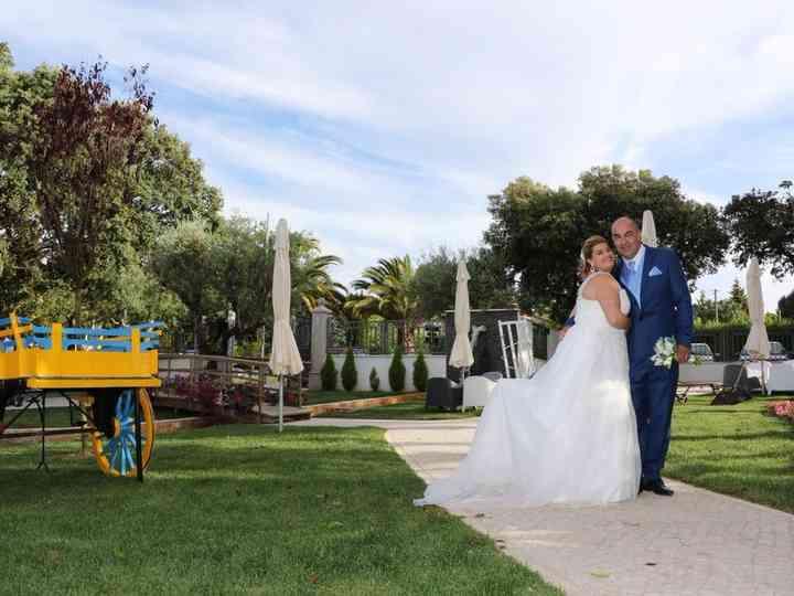 O casamento de Tânia e Jorge