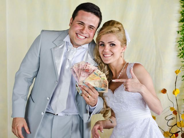 O casamento de Poliana e Roberto
