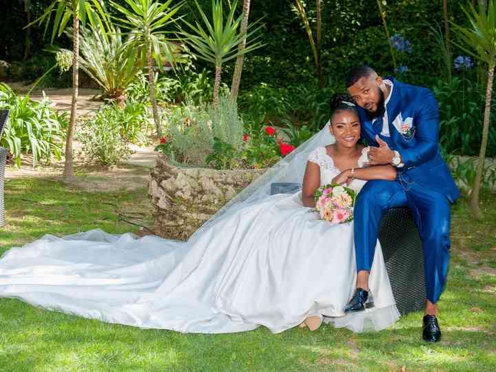O casamento de Salim e Jesimaira