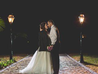 O casamento de Tânia e Ricardo