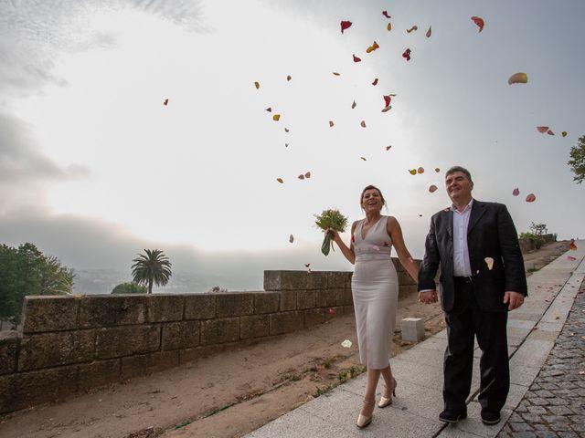O casamento de Cleusa e António