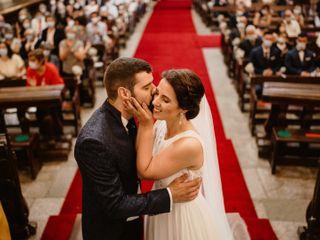 O casamento de Adriana e Tiago