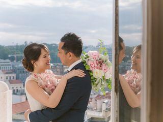 O casamento de Sarah e Vince