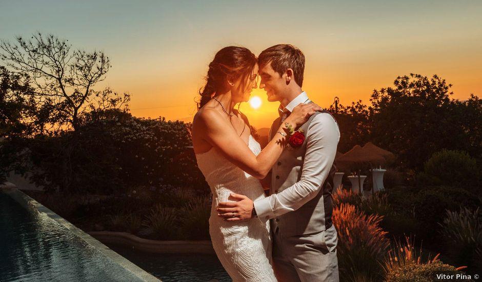O casamento de Stephen e Lisa em Boliqueime, Loulé
