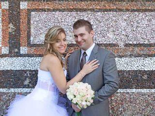 O casamento de Stephanie e Alex