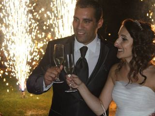 O casamento de Célia e Filipe