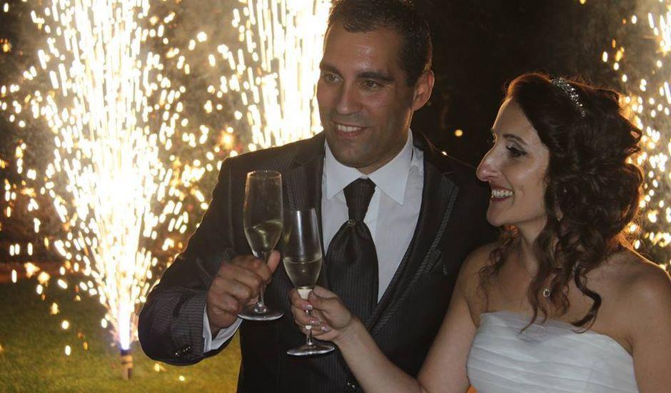 O casamento de Filipe e Célia em Armação de Pêra, Silves