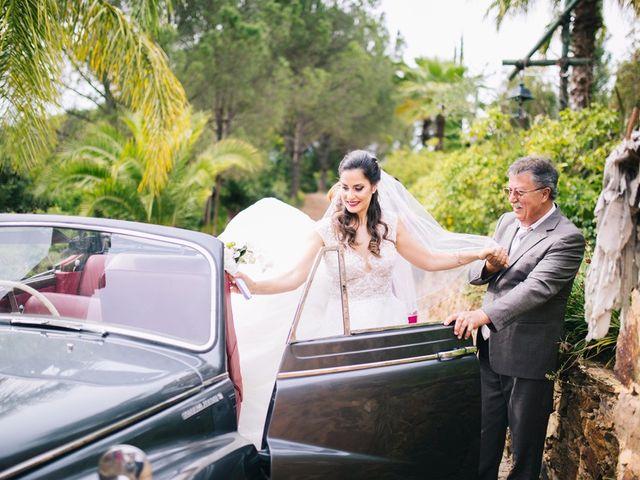 O casamento de Filipe e Marta em Monchique, Monchique 17